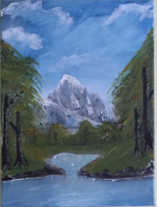 Mountain - My art book