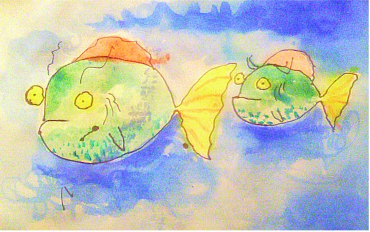 Fishes - Watercolors