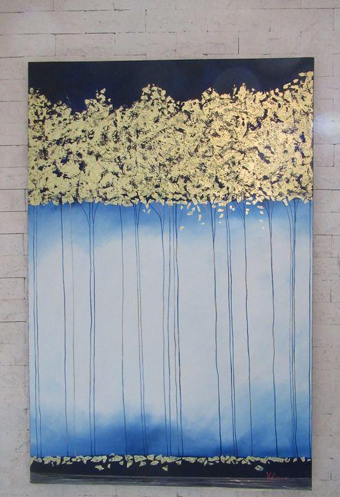 gold and deep blue - giannis kousidis