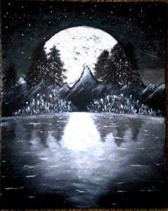 Late night light - Jay  mental art.