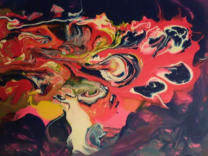 RISING - BEYOND THE OUTER LIMITS EXQUISITE ART