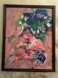 Original abstract acrylic paintingno