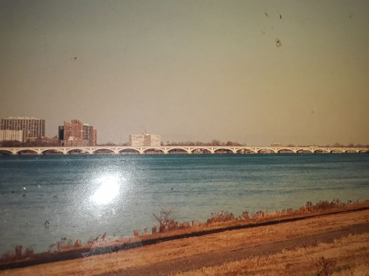 BELLE ISLE BRIDGE - BEYOND THE OUTER LIMITS EXQUISITE ART