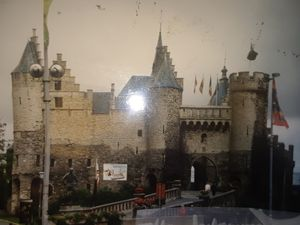 CASTLE ON GERMANY'S RHINE RIVER