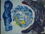 Original abstract paintings on canva