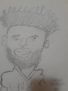 ODELL BECKHAM  caricature