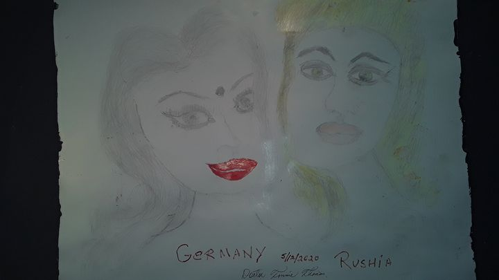 Germany and Rushia - BEYOND THE OUTER LIMITS EXQUISITE ART