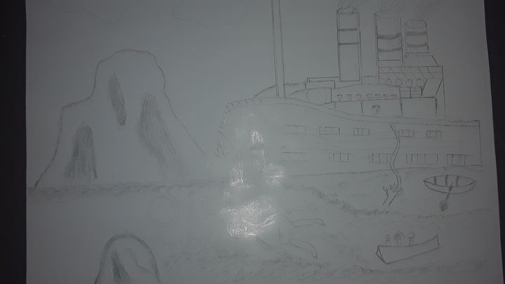 Titanic - BEYOND THE OUTER LIMITS EXQUISITE ART