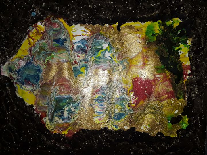 SUPERMAN ICE CREAM IN SPACE - BEYOND THE OUTER LIMITS EXQUISITE ART