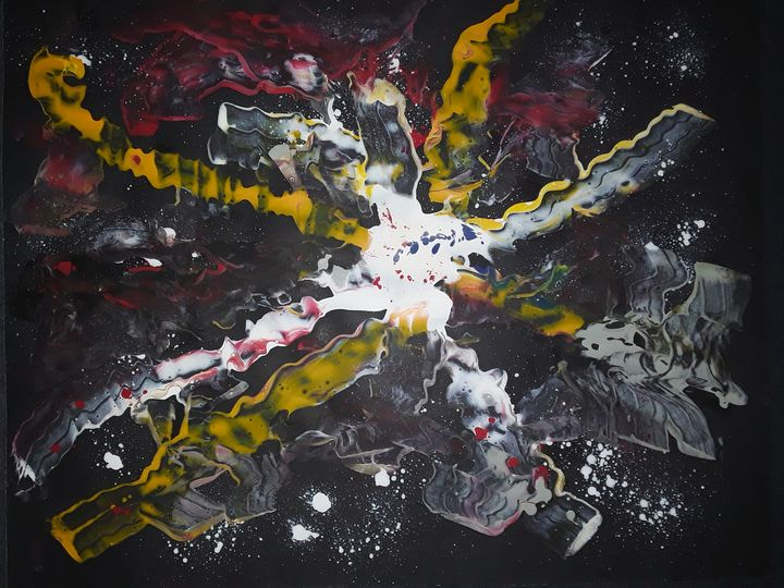 UNIVERSE BEGINNING...GOD'S PRESENCE - BEYOND THE OUTER LIMITS EXQUISITE ART