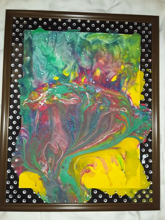 FLOW - BEYOND THE OUTER LIMITS EXQUISITE ART