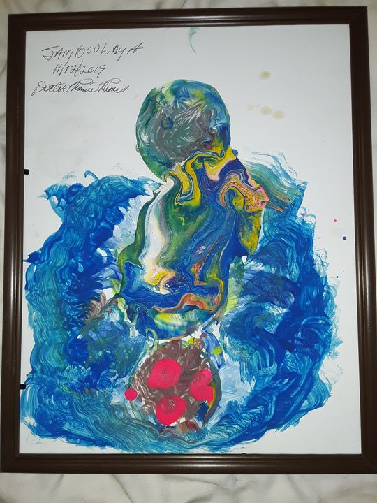JAMBOULAYA - BEYOND THE OUTER LIMITS EXQUISITE ART