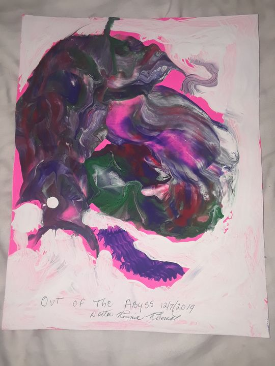 OUT OF THE ABYSS - BEYOND THE OUTER LIMITS EXQUISITE ART