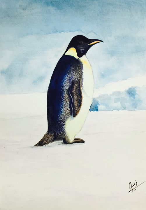 The Lost Penguin - Zebs Artbeat