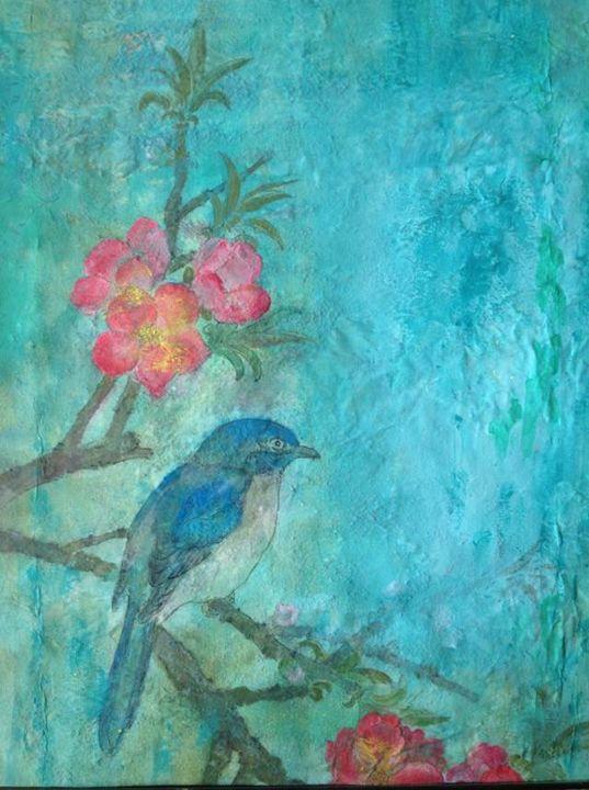 blue bird - art58