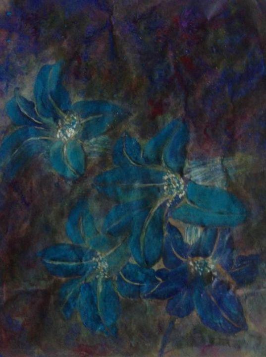 blue lily - art58