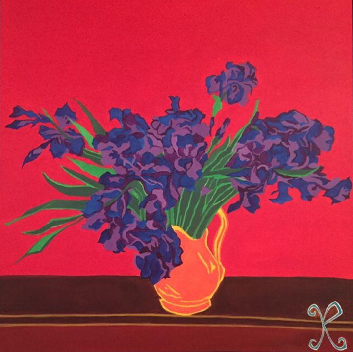 Irises - Art Junkie