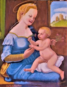 Madonna of the Pinks/Raphael - JNelsonGallery