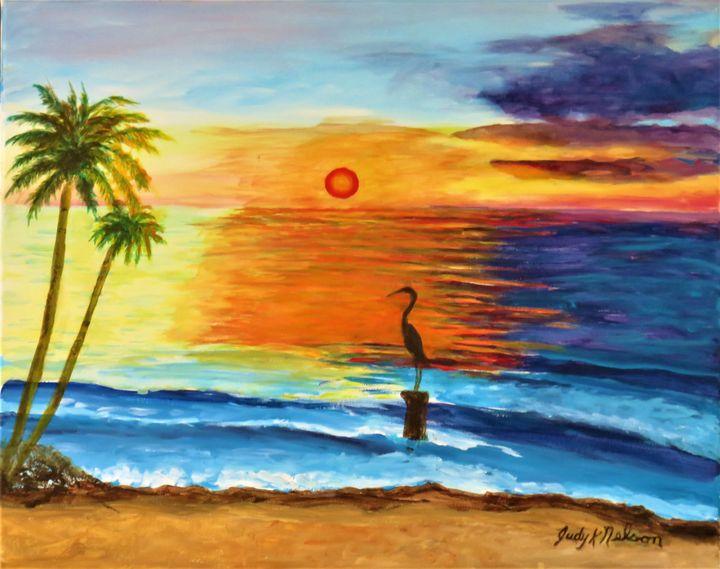 Key West Heron - JNelsonGallery