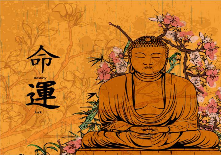 Divine Buddha - DigiScrapCafe