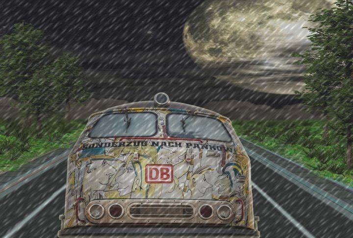 Road Trip In The Rain - DigiScrapCafe