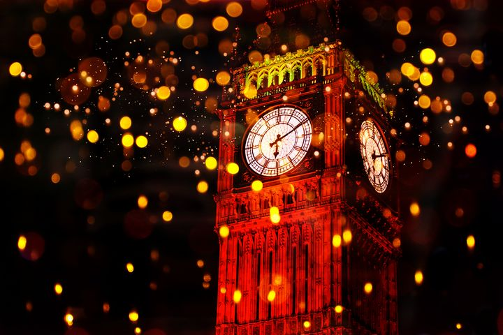 Big Ben Aglow - DigiScrapCafe