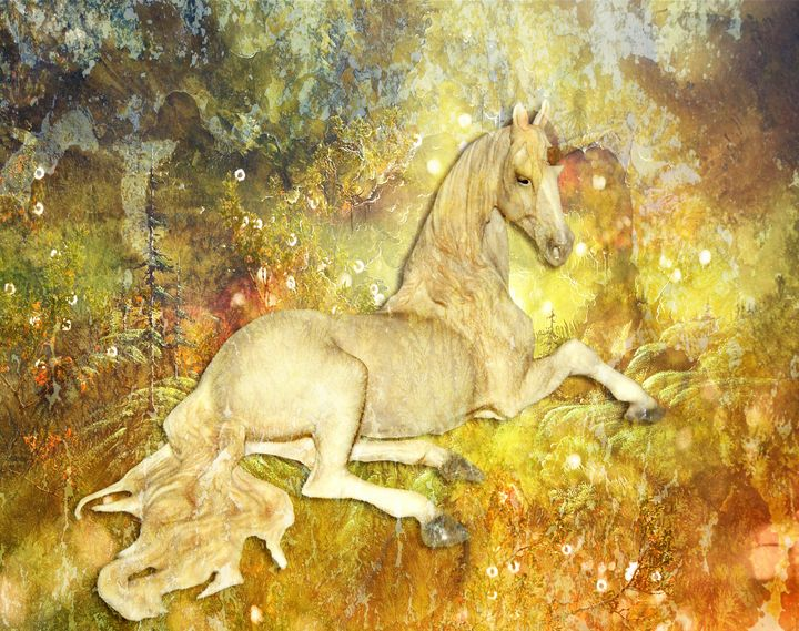 Golden Unicorn Dreams - DigiScrapCafe