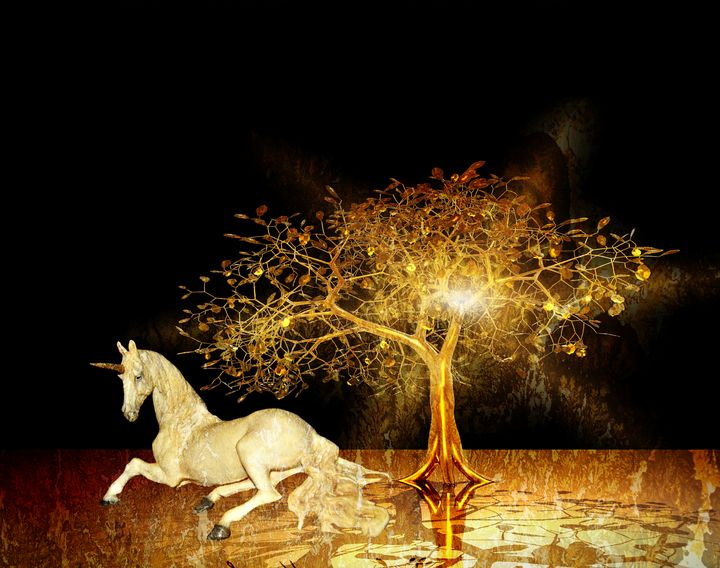 Unicorn Resting Series 1 - DigiScrapCafe