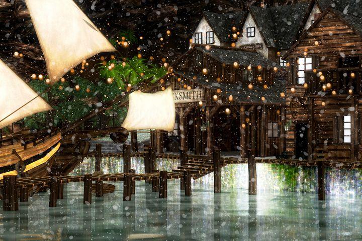 Winter Inn - DigiScrapCafe