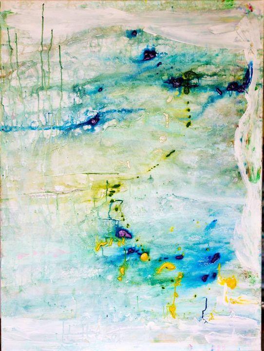 Watercolor pond - Alana Julian Visual Art