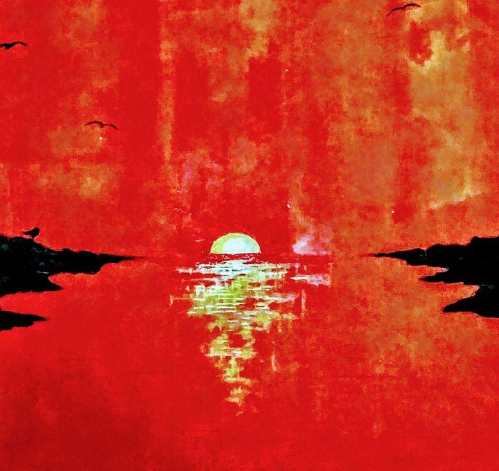 Calming Summer Sunset ll - Robert Martin