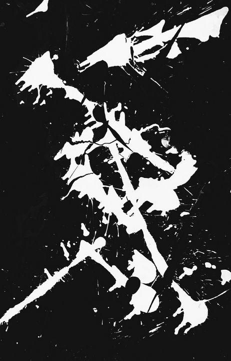 Black Tattoo Abstract - Robert Martin