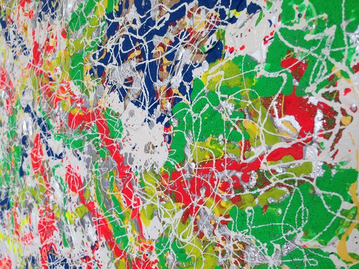 Colour Virus - Art by Brent