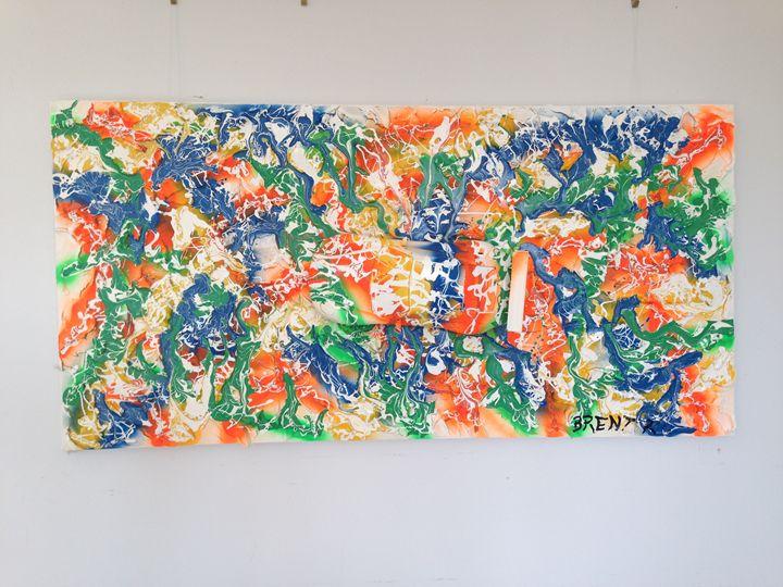 Porsche Colour Explosion - Art by Brent