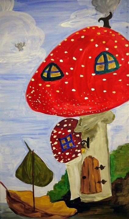 Magic Mushroom - Jennie Belaiev