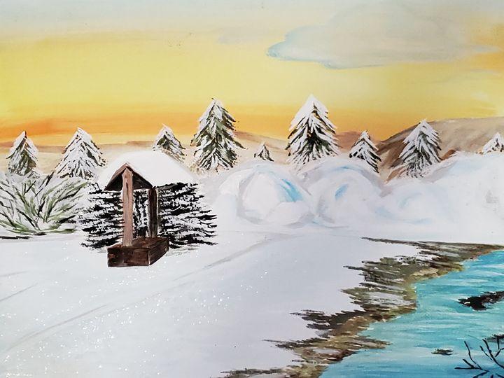 Magical winter - Jennie Belaiev