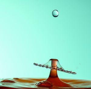 Incoming waterdrop