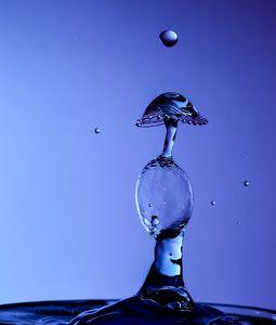 Bulbous waterdrop