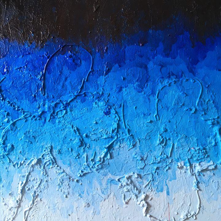 blue flower - Mark Rohles