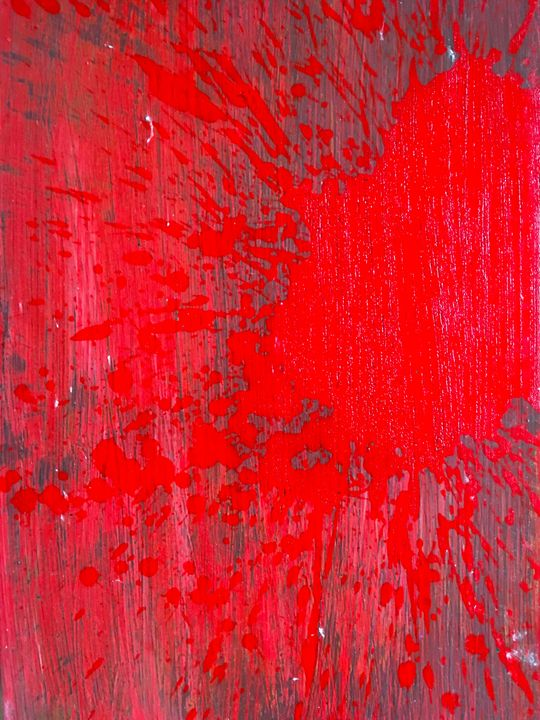 red stain - Mark Rohles