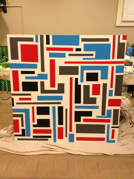 City Scape - Lundy Abstract Paintings