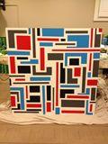 48 x 48 birch panel