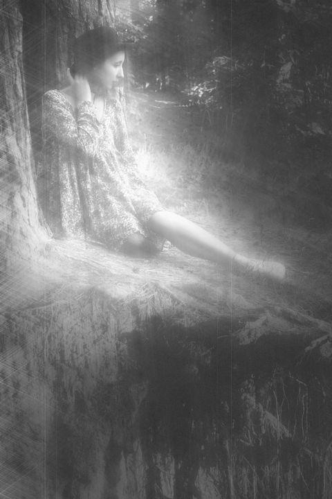 Ariana in the Forest - Konstantin Krok
