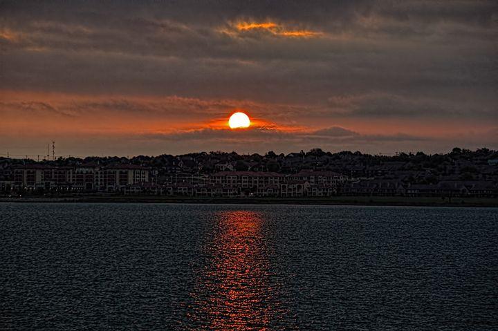 Stormy Sunrise over Rockwall - Diana Mary Sharpton Photography