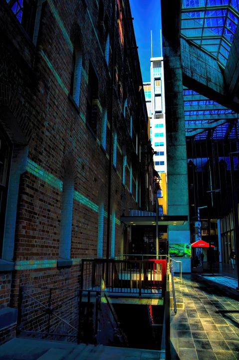 In-Between Buildings - Diana Mary Sharpton Photography