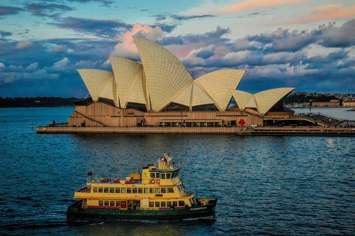 Opera House Sunset - Diana Mary Sharpton Photography