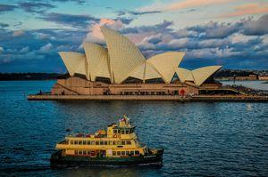 Opera House Sunset