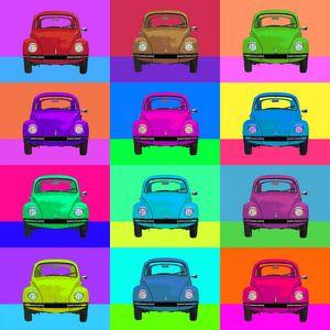 Beetles Pop Art No. 01