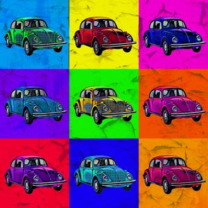 Beetles Pop Art No. 02 Crunche