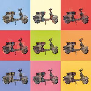Vespa Piaggio Pop Art No. 01